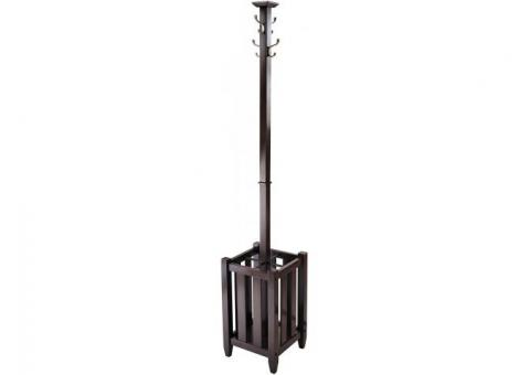 Craftsman Style Coat Tree & Umbrella Rack