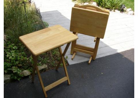 SOLID OAK TV Side tables